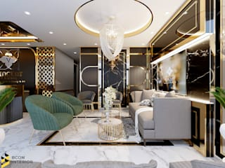 Eclectic style houses by Bcon Interior Eclectic