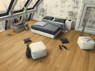 Floorwell Minimalist bedroom Wood Wood effect