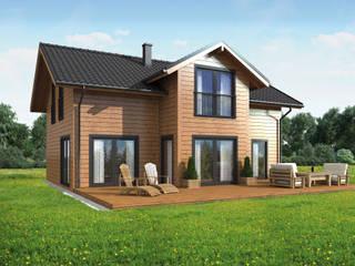 Casas de estilo rural de THULE Blockhaus GmbH - Ihr Fertigbausatz für ein Holzhaus Rural