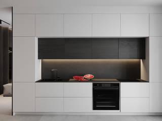 BORODINSKAIA Кухня в стиле модерн от УММ5 Модерн