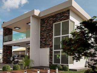 モダンな 家 の TN Arquitetura e Urbanismo モダン