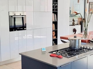 HIGH GLOSS KITCHEN CABINETS by The European Carpenter Modern