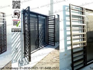 REGIO PROTECTORES Sliding doors Iron/Steel Black
