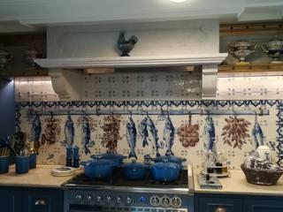 Cerâmica S. Vicente Cocinas de estilo clásico Azulejos