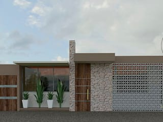 Arquitectura Tiempo & Espacio Casas de campo Piedra Marrón