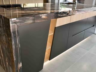 Cocina Grey Bayou de Aramobel all Inside,SL Moderno