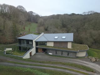 Featherbeds, Eco Friendly New Build In Truro - Cornwall by Arco2 Architecture Ltd Modern