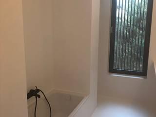 Fugenlose Badbeschichtung Minimalistische Badezimmer von nb beschichtung Minimalistisch