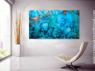 Holly Anderson Fine Art ArtworkPictures & paintings Katun Blue