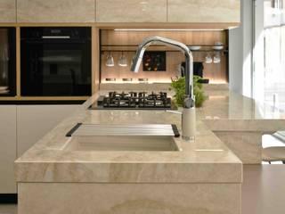Cocina Aramobel con Stonika Arga de Aramobel all Inside,SL Moderno