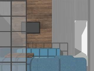 Omaxe residency Modern living room by tanushree Agarwal Designs Modern