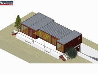 Modelo BLOC Family T2 | 120 m2 área coberta por BLOC - Casas Modulares Clássico