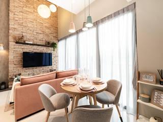The Creek Scandinavian style living room by Mr Shopper Studio Pte Ltd Scandinavian