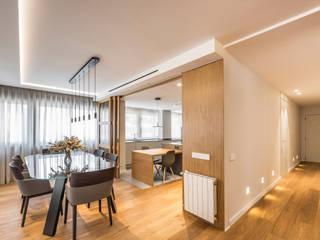 Casa Bazán Salones de estilo moderno de Destudio Arquitectura Moderno