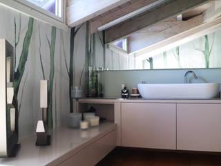 viemme61 洗面所&風呂&トイレデコレーション 紙 緑