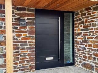 RK Exclusive Doors Puertas modernas Aluminio/Cinc Negro