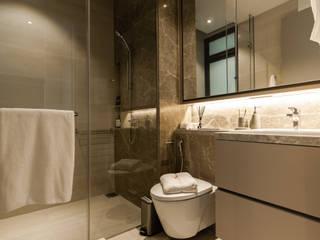 Highline Residence Modern bathroom by Mr Shopper Studio Pte Ltd Modern