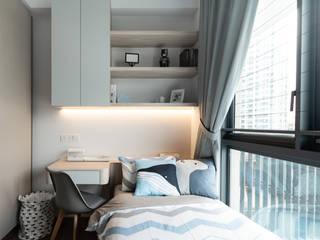 Highline Residence Modern style bedroom by Mr Shopper Studio Pte Ltd Modern