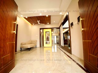 Modern House Asian style corridor, hallway & stairs by Amar DeXign Scape Asian