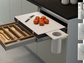 Atim Spa KitchenBench tops Aluminium/Seng