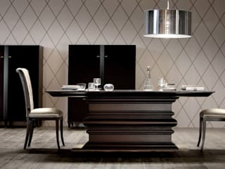 Dining Table Set: modern  by Studio Dovetails,Modern