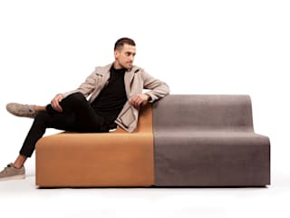 Emotion furniture line: modern  by CooLoo, Modern