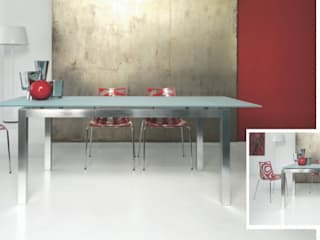 Atim Spa Dining roomTables Aluminium/Seng