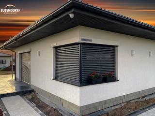 Inteligentne Rolety Bubendorff 現代房屋設計點子、靈感 & 圖片 鋁箔/鋅
