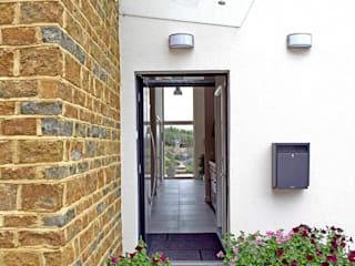 Carrstone House Passivhaus Modern corridor, hallway & stairs by Eco Design Consultants Modern