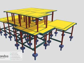 Projeto Estrutural Sobrado K por GANDZA ENGENHARIA