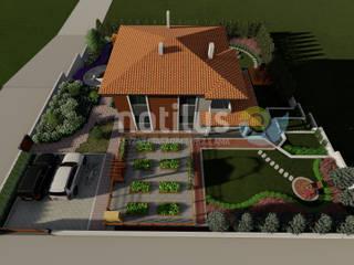 KK Mountain House Notilus Peyzaj Tasarım ve Uygulama Kırsal/Country