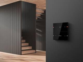 Modern corridor, hallway & stairs by Gira, Giersiepen GmbH & Co. KG Modern