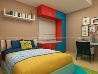 KIDS ROOMKIDS Home center interiors Small bedroom Plywood