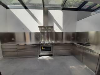 Reformas Sarria Pedralbes KitchenCabinets & shelves