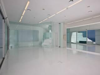Reformas Sarria Pedralbes Ruang Studi/Kantor Modern