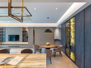 Modern dining room by Grande Interior Design Modern