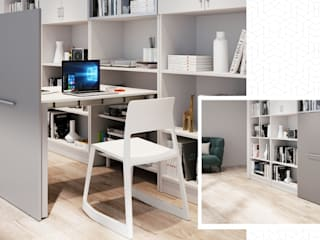 Atim Spa Study/officeDesks Aluminium/Seng