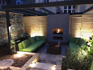 Outdoor Spaces - Garden Lighting Design by JPLD Modern