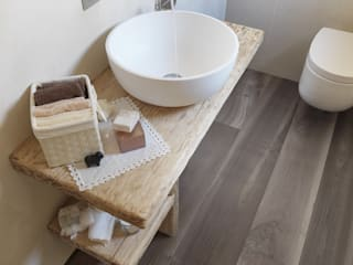 Parquet - Bathroom and Kid's Room Baños de estilo moderno de Cadorin Group Srl - Italian craftsmanship Wood flooring and Coverings Moderno