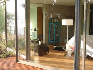 INGENIERIA Y DISEÑO EN CRISTAL, S.A. DE C.V. Moderner Balkon, Veranda & Terrasse Glas Transparent