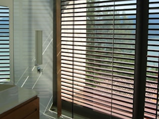 INGENIERIA Y DISEÑO EN CRISTAL, S.A. DE C.V. Moderne Badezimmer Glas Transparent