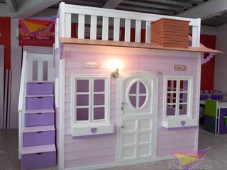 por Kids Wolrd- Recamaras Literas y Muebles para niños Clássico