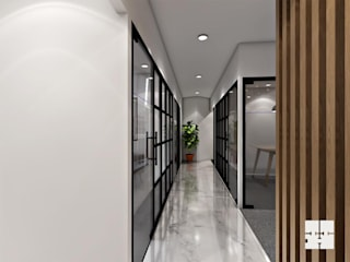 Office Space: modern  by Paimaish,Modern
