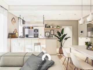 Spazio - Ristrutturazioni Living room Beige