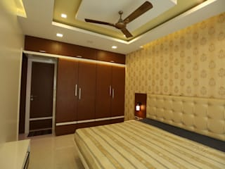 Residential Project in Mumbai: asian  by S4S Interiors LLP,Asian