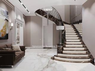 Архитектурное Бюро 'Капитель' Stairs Marble White