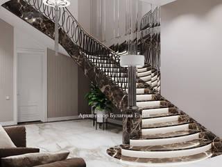 Архитектурное Бюро 'Капитель' Stairs Marble Brown