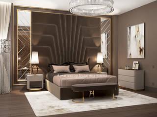 Архитектурное Бюро 'Капитель' Classic style bedroom Wood Brown