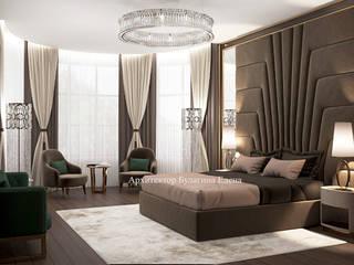 Архитектурное Бюро 'Капитель' Classic style bedroom Ceramic Brown