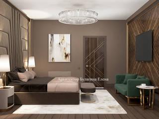 Архитектурное Бюро 'Капитель' Classic style bedroom Ceramic Beige